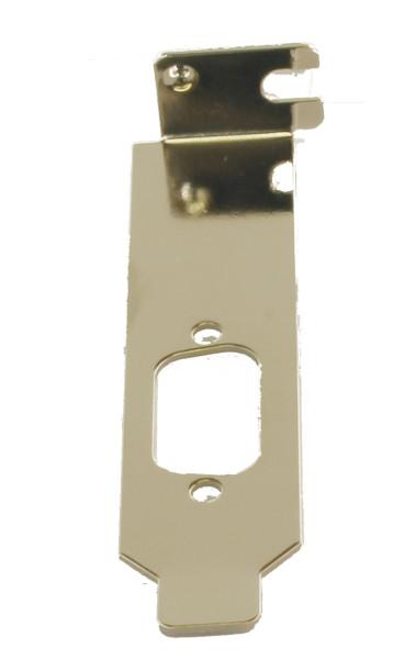 LowProfile Bracket für 9 Pin Stecker/Buchsen