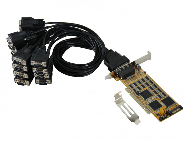 PCI 16S Seriell RS232 Karte, SystemBase Chip-Set