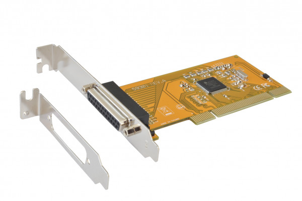 PCI 1P Parallel-Karte, EPP/ECP/SPP, ASIX