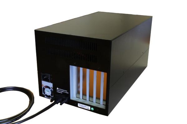 Expansion Box mit 4 x PCI Slots, 38cm lang, 220W
