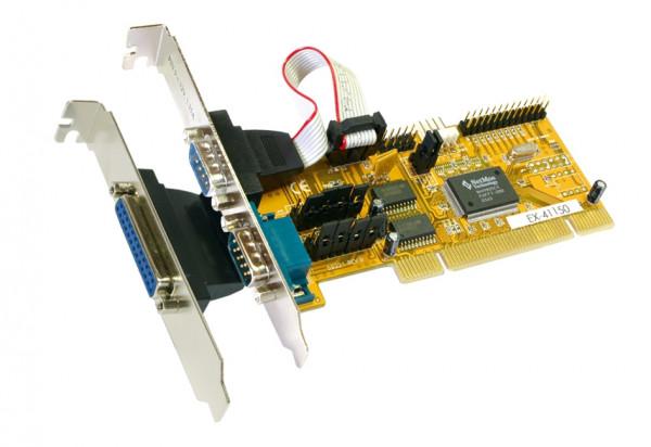 PCI 2S Seriell RS-232/1P Parallel Multi I/O-Karte
