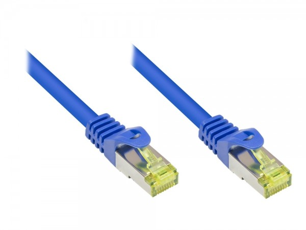 Patchkabel, Cat. 7 S/FTP PiMF, blau, 7,5m