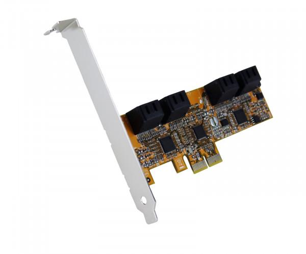 SATA 3 PCIe 8-Port Controller ohne RAID