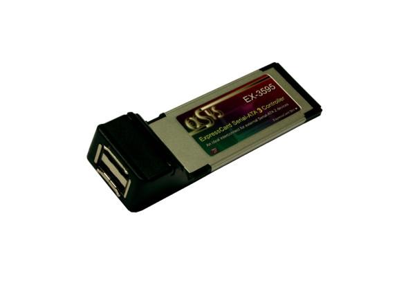ExpressCard eSATA 3 Controller