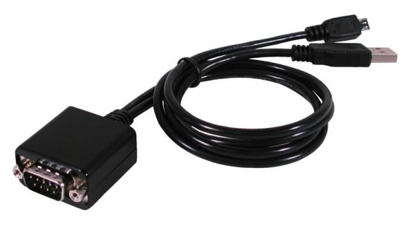 Micro USB Android zu 1 x Seriell RS-232 Ports mit 1.8 Meter Kabel (FTDI)