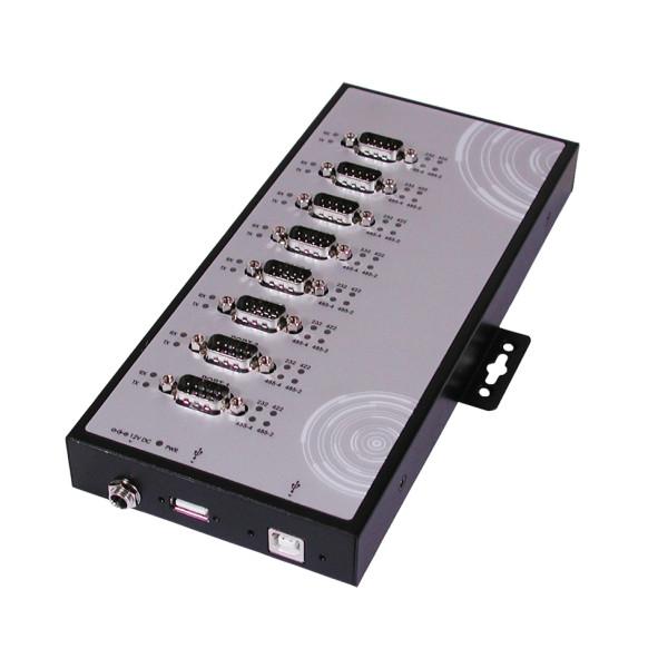 USB 2.0 zu 8S Seriell RS232/422/485,verschraubbar
