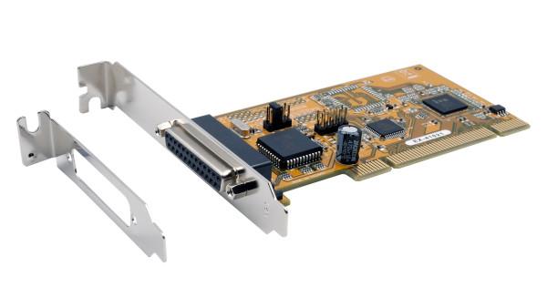 PCI 1P Parallel-Karte, EPP, Legacy 3BC, 378, 278