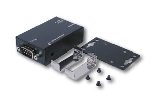 Ethernet zu 1 x RS-232 Metallgehäuse, Din-Rail
