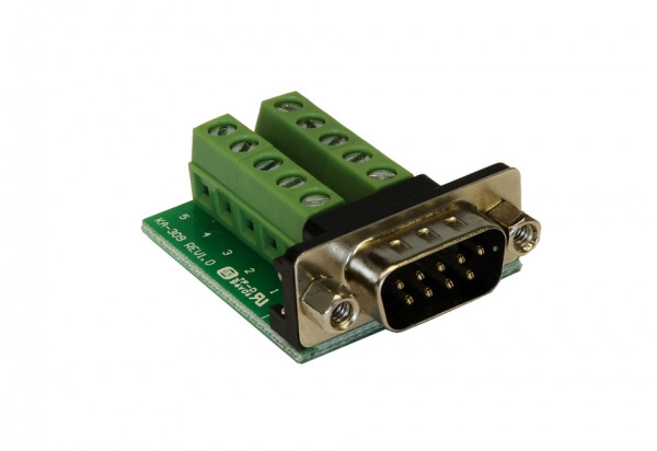 Adapter 9 Pin Stecker zu 10 Pin Terminal Block