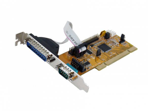 2S PCI Seriell-Karte, 9/25 Pin Port (SystemBase)
