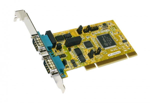 PCI 2S Seriell RS-422/485 Karte, Surge Protection