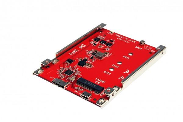 Konverter M.2 NGFF SATA zu USB 3.1 Gen2 und 1