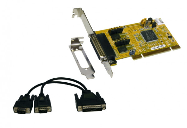 2S PCI card with Octopus cable and LP Bügel