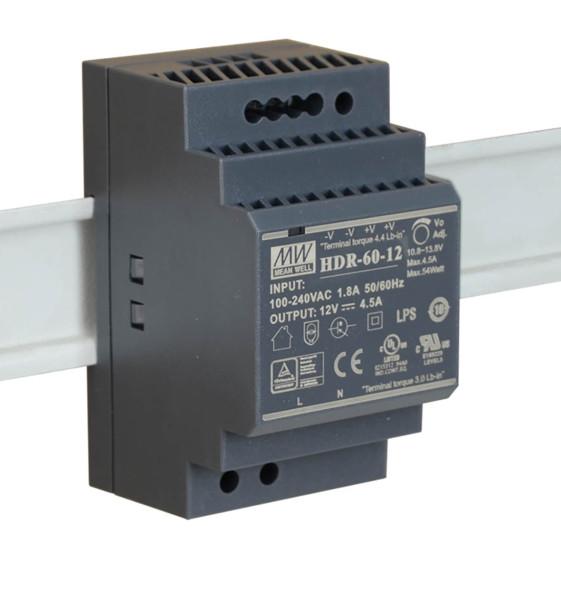 HDR-60-12 Netzteil für EXSYS USB HUB