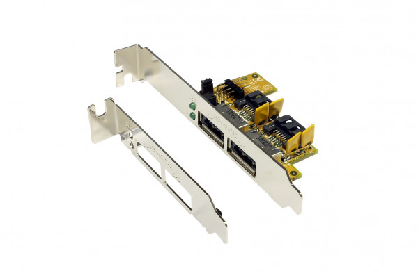 Intern nach Extern Adapter USB 2.0+eSATA 2
