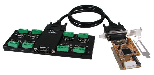 PCI 8S Seriell RS-232/422/485 Module