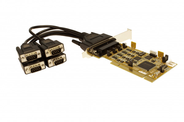 PCI 4S Seriell RS-232/422/485 Combo Karte