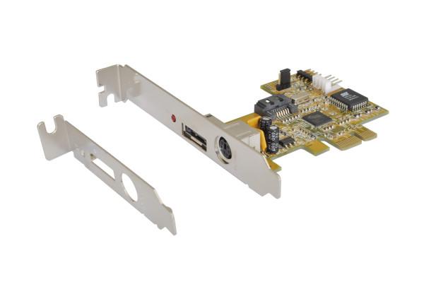S-ATA 2 PCI-Express RAID 0/1 Controller 1+1 HDD