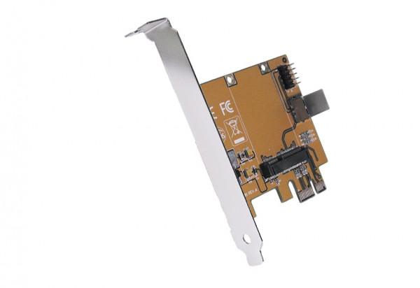 PCI-Express zu mini PCIe Adapter Karte