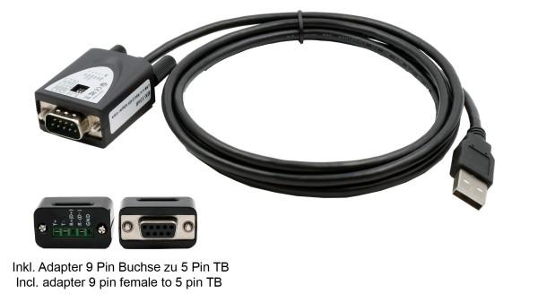 USB 2.0 zu Seriell RS-422/485 Kabel (FTDI Chip)