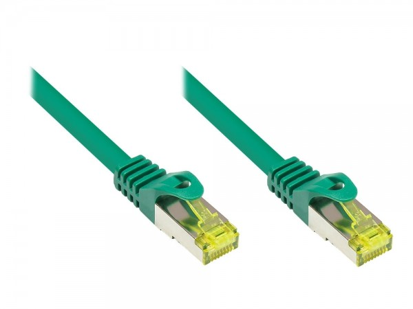 Patchkabel, Cat. 7 S/FTP PiMF, grün, 20m