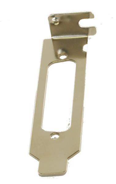 LowProfile Bracket für 25 Pin Stecker/Buchsen