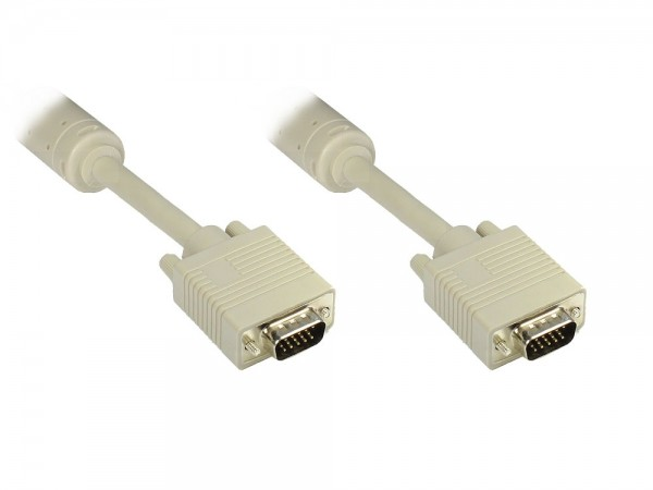 Premium S-VGA Monitorkabel,15 Pin