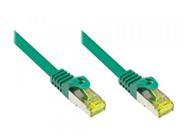 Patchkabel, Cat. 7 S/FTP PiMF, grün, 1m