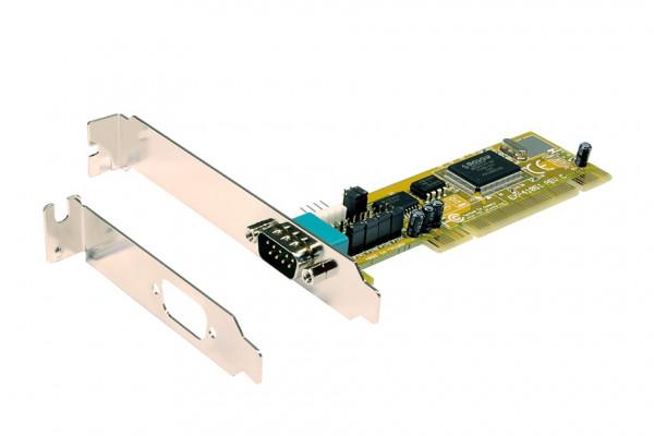 PCI 1S Seriell RS-232 Karte, MosChip Chip-Set