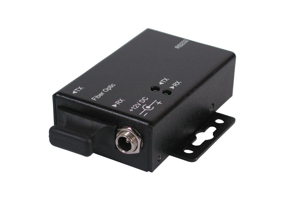 RS-232 zu LWL Lichtwellen-Leiter (Single Mode) Konverter