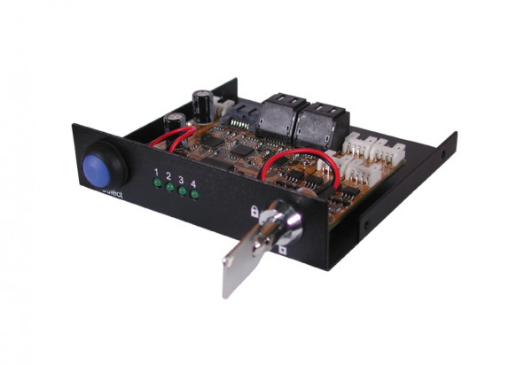 Umschalter von 1 zu 4 S-ATA 3 Festplatten
