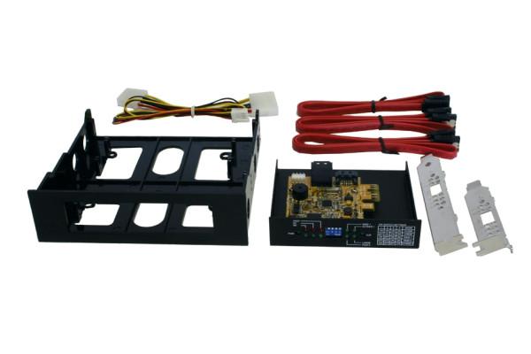 Backup System SATA 2 mit RAID 0/1