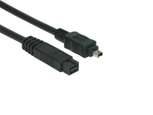 FireWire 1394B Kabel 9 zu 4 Pin, 5.0 m