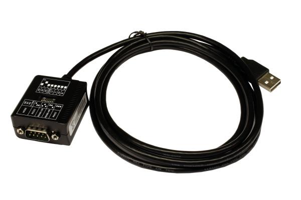 USB 2.0 zu 1 x Seriell RS-232/422/485 Port mit 1.8 Meter Kabel (FTDI Chip-Set)