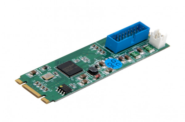 M.2 NFGG 2 Port USB 3.1 Gen2 Karte