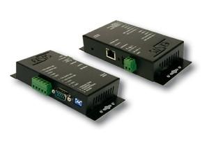 Ethernet zu 1 x RS-422/485, Metall Gehäuse, Opto