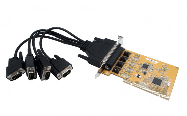 4S Seriell RS-232 PCI Karte (FTDI Chipset)
